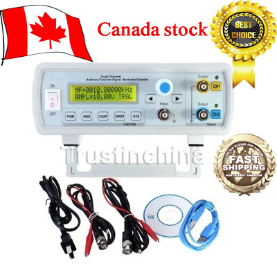 24MHz Dual-Channel Arbitrary Waveform DDS Function Signal Generator FY3224S CA!