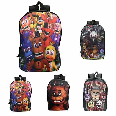 Five Nights at Freddy's Boys Girls School Backpack Gift Rucksack Shoulder Bag