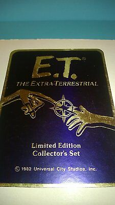 1982  E.T.THE EXTRA-TERRESTRIAL  4 COIN SILVER SET  VERY RARE coin set a