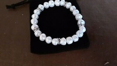 freshwater pearl bracelet for bride or bridesmaid