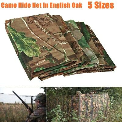 Camouflage Camo Net Cover Hide Netting Hunting Shoot Army Kids Woodland Camping