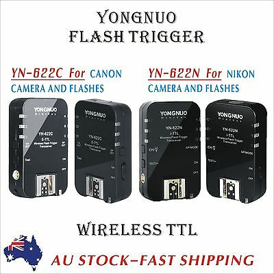 Yongnuo YN-622N Wireless TTL Flash Trigger for NIKON CAMERA