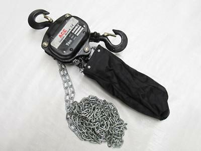1 Ton x 6 Metre Chain Block With Chain Bag - 1000KG Lift Manual Hand Hoist