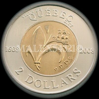 *rare* Canada (1608-)2008 Two Dollars Uncirculated