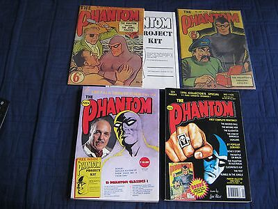 (2) THE PHANTOM ANNUALS- #1094 & #1125 Includes Replica #4 & #5 FREE SHIPPING
