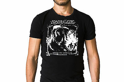 Sacrilege Behind The Realms Of Madness 1985 Album Cover Inspired Black T-Shirt