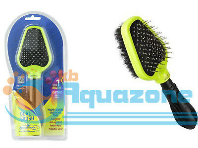 Furminator Dual Brush For Dogs with short and silky coat