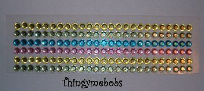 6 x 12.5cm STRIPS EASTER GEMS BORDERS SELF ADHESIVE/STICKERS
