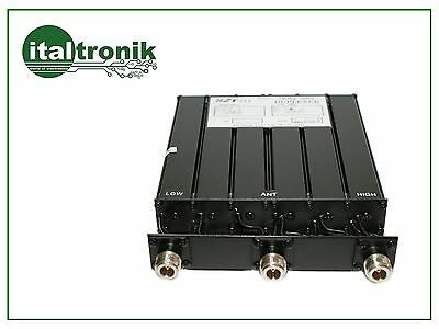 DUPLEXER HOLLOW UHF CONNECTION N FREQUENCIES 410-470 MHz WIDTH 10 / 5MHz