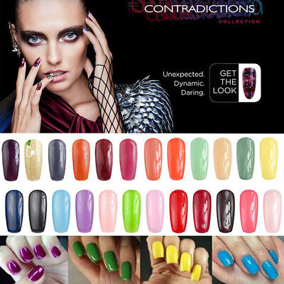 Hot selling 7.3mL UV Color Coat Gel Nail Polishes Lacquers 44 Colors