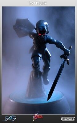 First4Figures F4F Dark Link Exclusive Statue Legend of Zelda Nintendo RARE