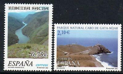 SPAIN 2002 MNH SG3854-55 Nature