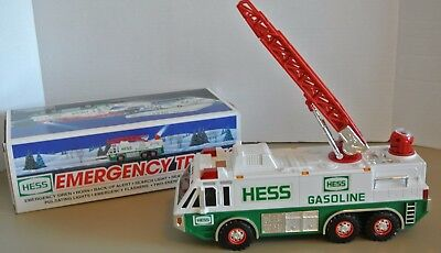"""Hess """"Emergency Truck"""" 1996 Holiday Collectible- Used w/Box"""