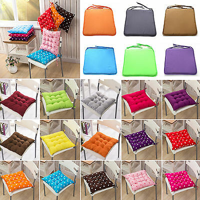Tie On Soft Seat Pad Dining Room Garden Kitchen Office Chair Home Cushions Pads