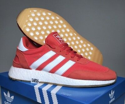 Adidas Iniki Runner Red Running White Gum Brown BY9728 Size 9-11 Ultra Boost  NMD 459545540