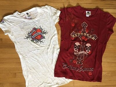 Britney Spears Stronger And Womanizer Concert Shirts M