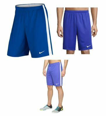 NIKE MENS Dri-Fit Soccer Basketball Workout Academy Dry Shorts BLUE NEW LARGE L
