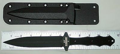 Blackhawk / UK-SFK / United Kingdom Special Forces Knife / D-2 Steel / Black