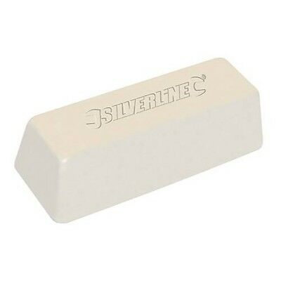 WHITE POLISHING COMPOUND VARIOUS STAGE 500 G GRAMS Buffing Soap Wax Bar  P254