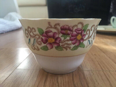 Colclough China Sugar Bowl 6677 Made In Longton England