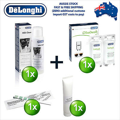 Delonghi EcoDecalk Eco Decalk Descaler Cleaner Coffee Machine Grease M-Kit