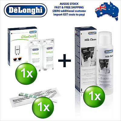 Delonghi EcoDecalk Eco Decalk Descaler Cleaner Cleaning Water Hardness M-Kit