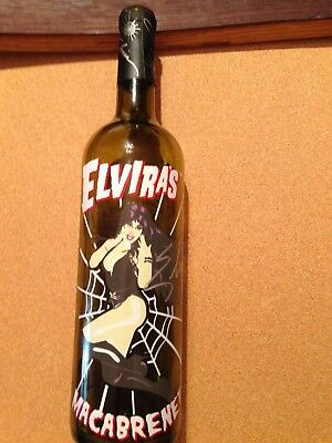 ELVIRA Mistress of the Dark Autographed/Signed Limited Edition Wine Bottle/Cork