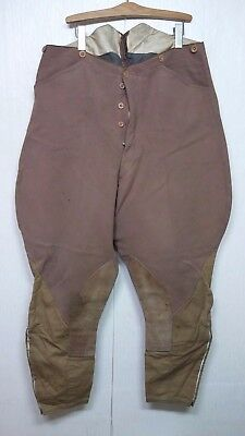 RARE Vintage WW2 US Army Cavalry Officer Trousers Pants Military Clothes Uniform