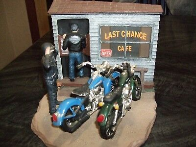 Last Chance Cafe Hard To Find Harley Davidson Collectables by Ertl Collectables