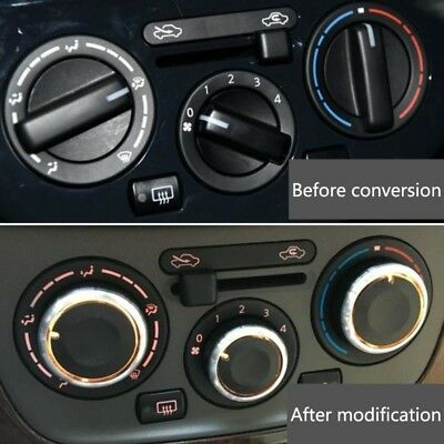 3x Air Condition A/C Panel Control Switch Knob For Volkswagen VW GOLF 4 MK4 Bora