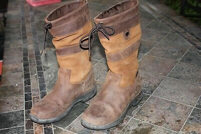 Dublin Mid River Boots Brown Size 9 Us