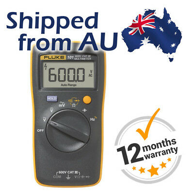 Fluke 101 Handheld Digital Multimeter 600 V CAT III Free Shipping from AUSTRALIA