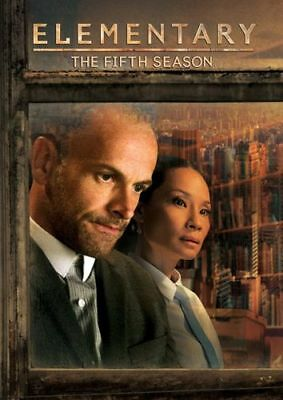 Elementary: The Fifth Season 5 (DVD, 2017, 6-Disc) Factory Sealed Free Expedited