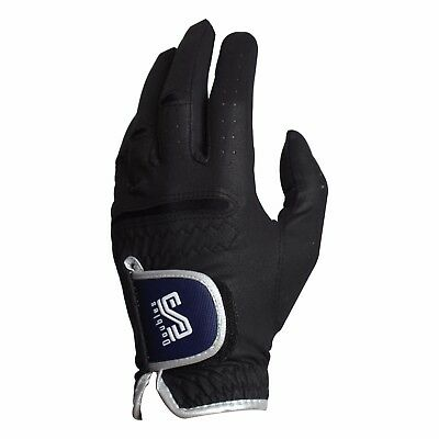 New DoubleS Men's Premium Microfiber Fabric Golf Glove Sports Gloves-1 Pack/Left
