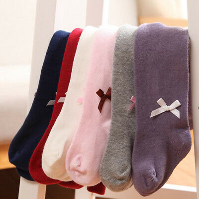 Princess Baby Kids Girls Cotton Pantyhose Socks Toddler Winter Tights Stockings