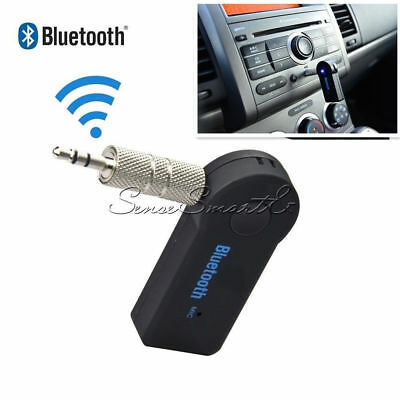 Wireless USB Bluetooth 3.5mm Mini  Aux Stereo Audio Music Car Adapter Receiver