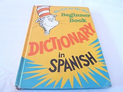 The Cat In The Hat. Beginner Book.dictionary In Spanish