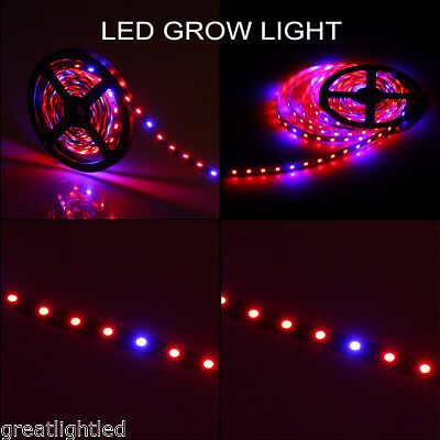 3M 5050 SMD Red Green 4:1 180LED Hydroponic Plant Grow Led Light Bar Strip Lamp