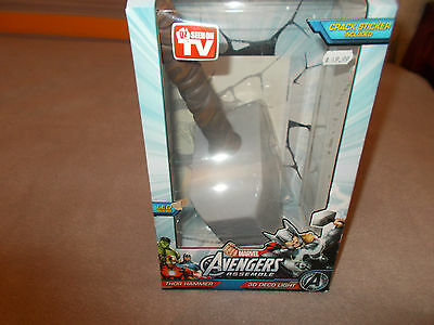 Marvel Avengers 3 D Deco Light Thor Hammer.