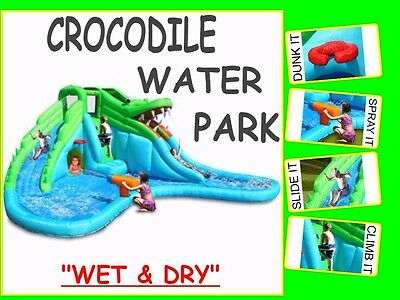 Summer Fun Crocodile Water Park 9517 (WET AND DRY)