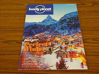 Lonely Planet Traveller Magazine: Perfect Winter: January: Alps, Sweden, Sydney