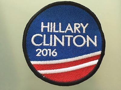 DON/'T BLAME ME I VOTED FOR HILLARY CLINTON IRON-ON PATCH embroidered ELECTION