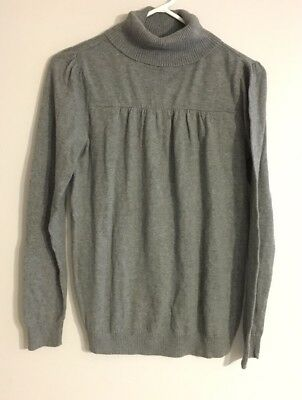 Women's Maternity Sweater Ana A New Approach M Gray