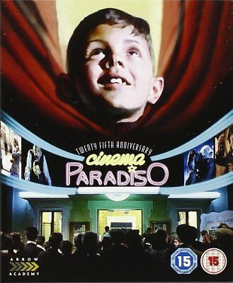 *Cinema Paradiso: 25th Anniversary Remastered Edition - Blu ray NEW & SEALED