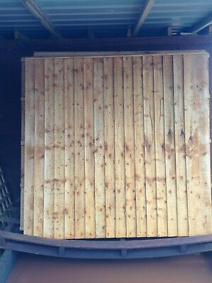 Featheredge Fence Panel 6x5 JUST £19 6x6 JUST £20