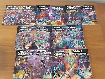 Transformers G1 Marvel US Complete Collection. Titan Books vol 1 - 14 (LikeNew)