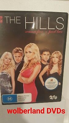 The Hills : Season 5 : Part 2 [ 2 DVD Set ] LIKE NEW, Region 4, FREE Fast Post