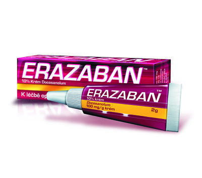 ERAZABAN 10% cream 2g -  Help with Cold Sore - Best price & Registered Mail