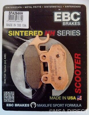Peugeot Tweet 50 / 125 (2010 to 2015) EBC Sintered FRONT Brake Pads (SFA264HH)
