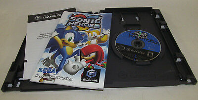 Sonic Heroes (Nintendo GameCube, 2004) Complete CIB Good Shape & Fun Game